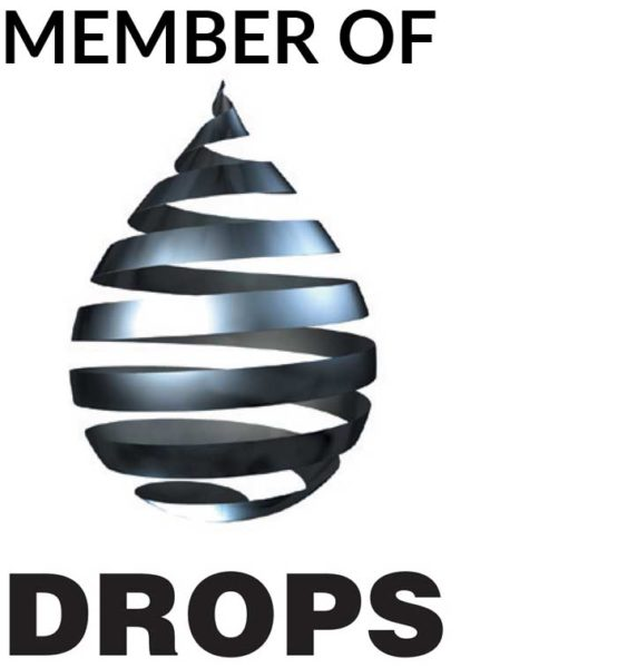 DROPS logo to show we are members
