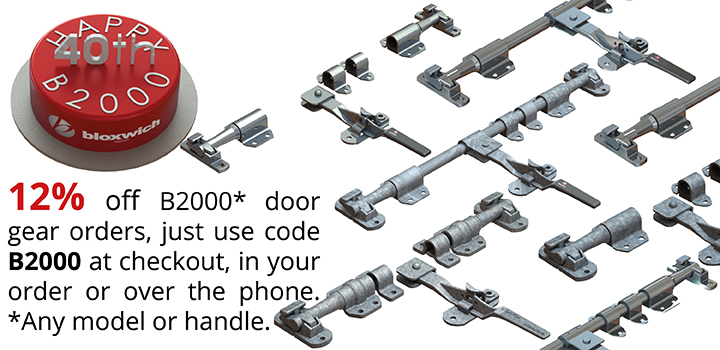 Happy Birthday B2000 Door Gear