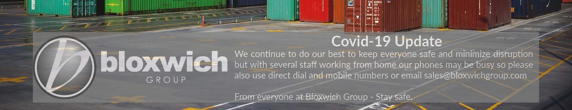 Bloxwich Group Coronavirus Update Website Slider Image