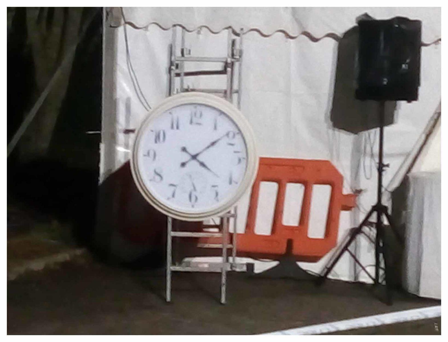 Strathpuffer Clock