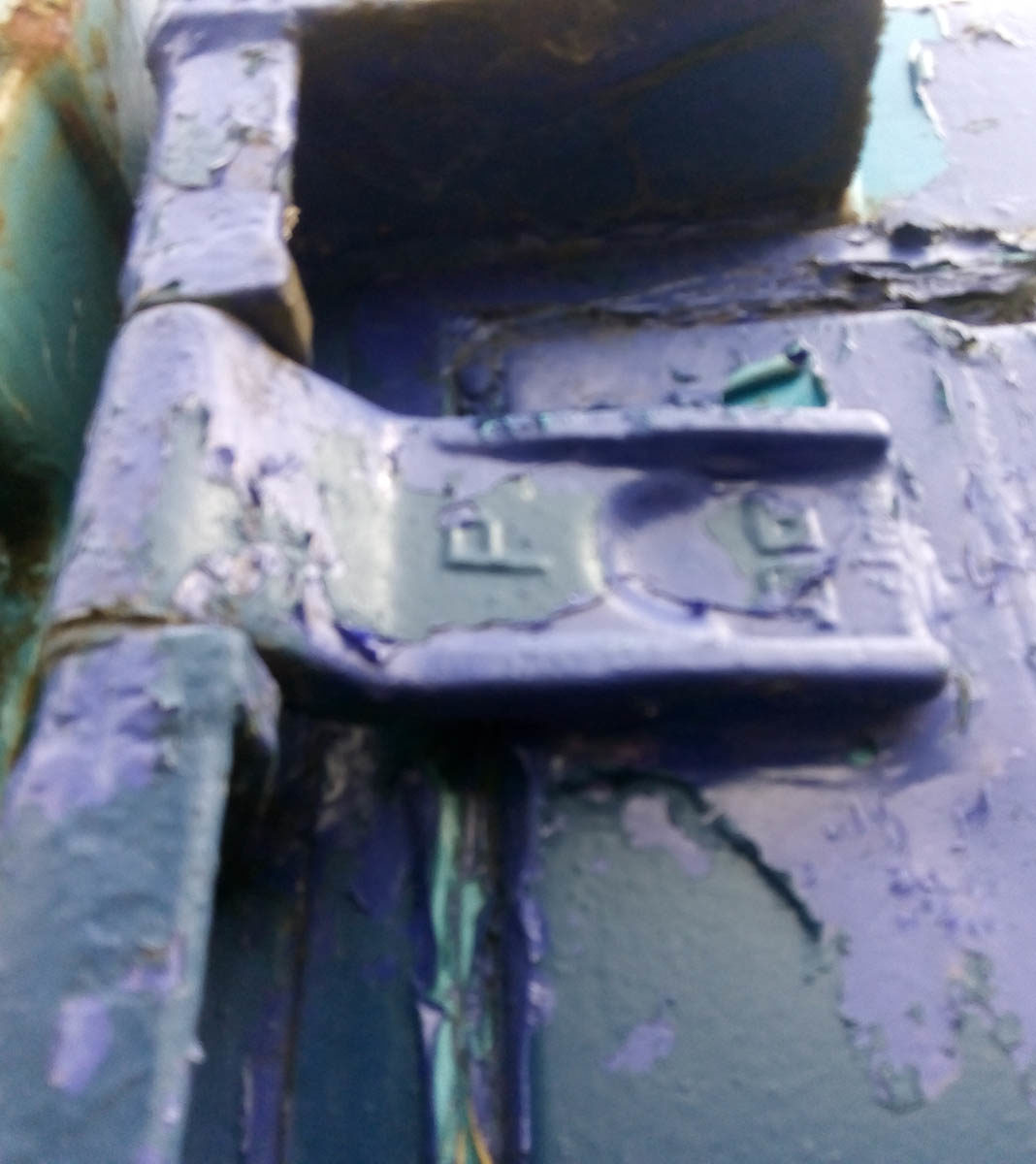 Bloxwich hinge, hinge butts and pins