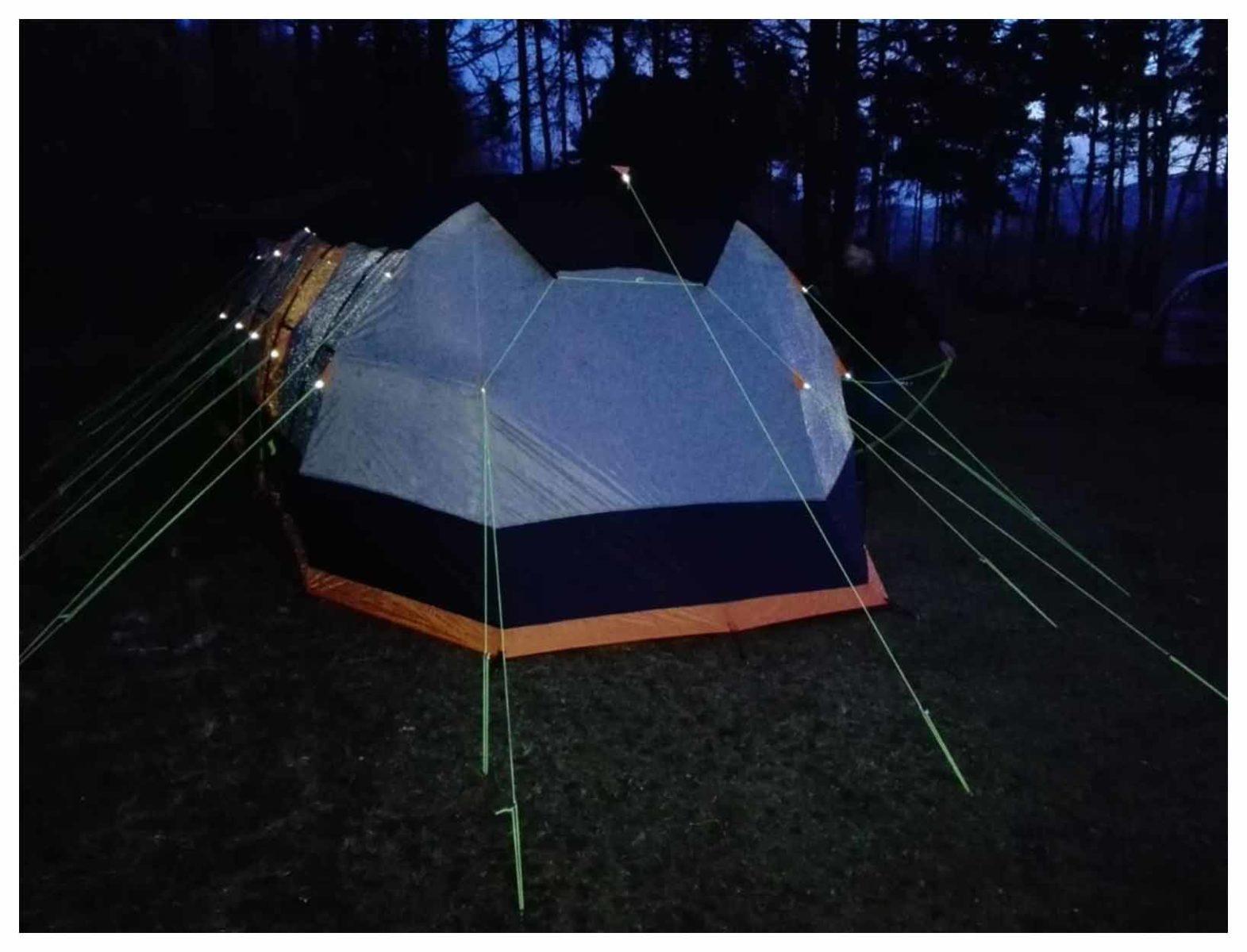 8 man winter tent